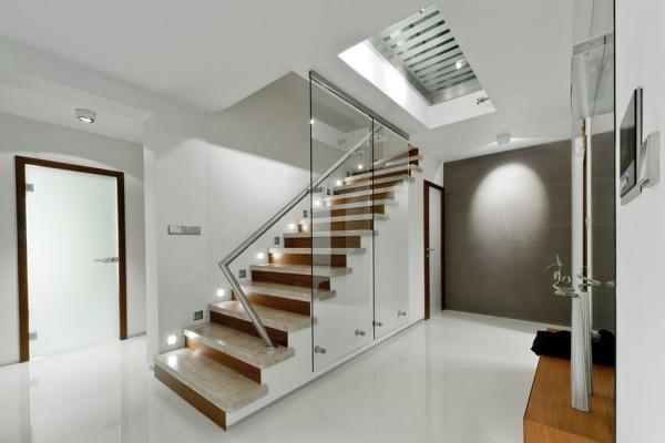 Modern corridor interior design